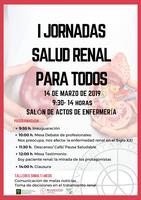 I Jornadas de Salud Renal
